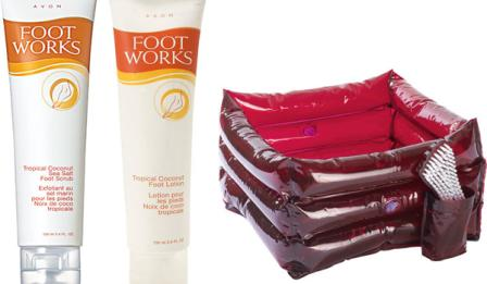 avon foot works sept giveaway