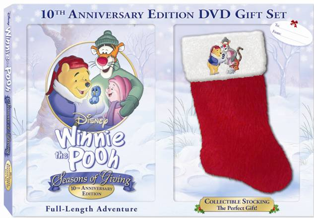 winnie the pooh seasons of giving dvd cover