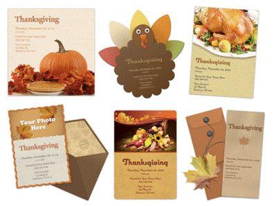 mypunchbowl thanksgiving invites