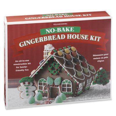 williams sonoma no bake winter wonderland gingerbread house kit