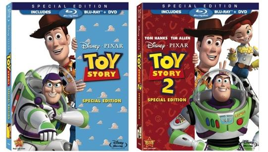 toy story 1 and 2 dvd review mom knows it all