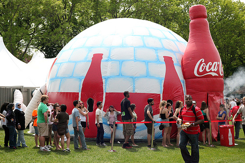 coca cola swelter experience