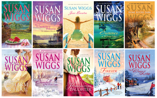 susan wiggs books prize pack
