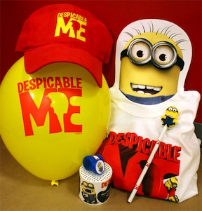 despicable me youth prize pack