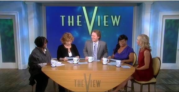 The View – Clay, Gay, Mel, Bret, Hungry Girl, Hungry Whoopi And Selfish Only Children
