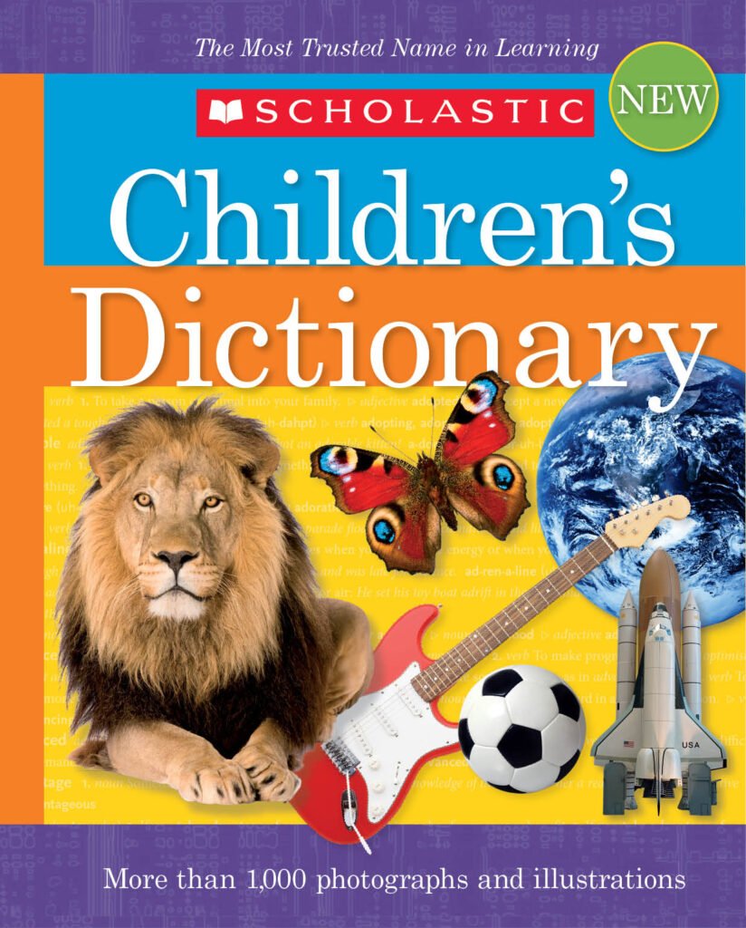 scholastic childrens dictionary cover
