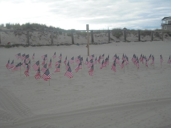 American Flags For Jersey Missing