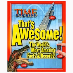 Time For Kids Thats Awesome Facts And Records Cover