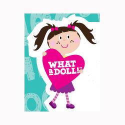 What A Doll Logo