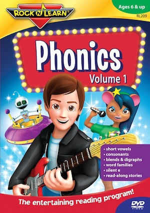 Rock N Learn Phonics Volume 1