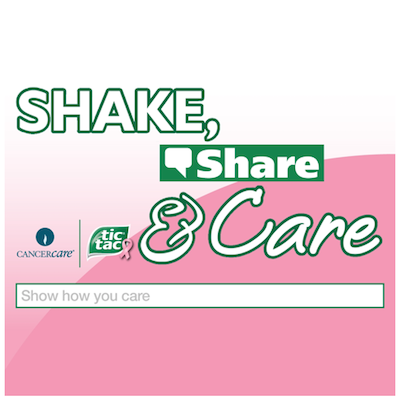 TicTac Shake Share Care Banner
