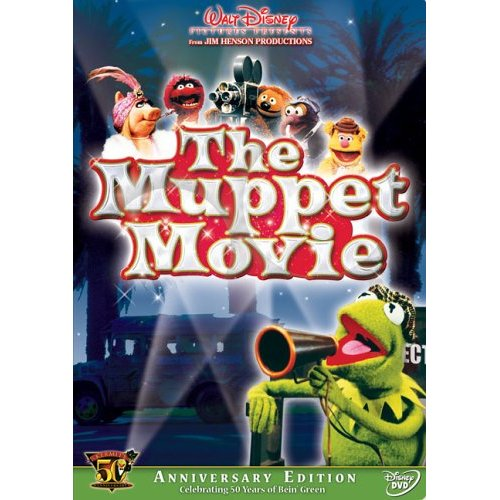 Muppet Movie 50th Anniversary DVD Cover