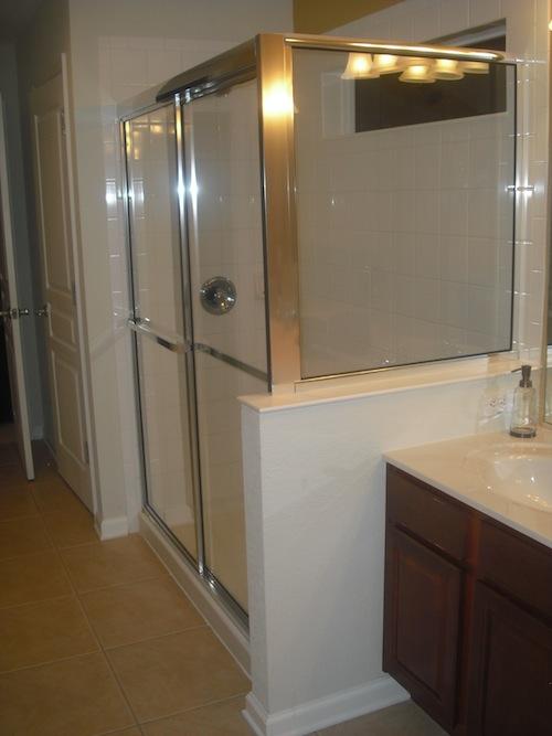 Global Resorts Master Bath Shower