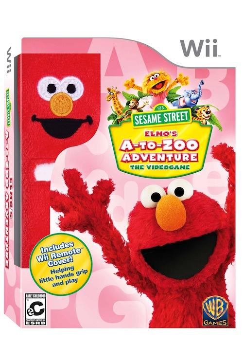Sesame Street Elmos A To Zoo Adventure Wii Box