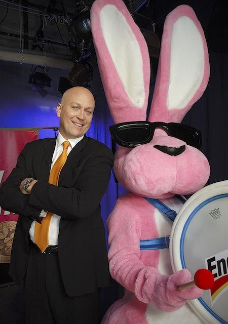 Cal Ripken With Energizer Bunny