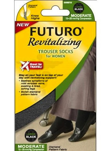 Futuro Compression Trouser Socks Box