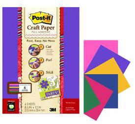 PostIt Craft Paper