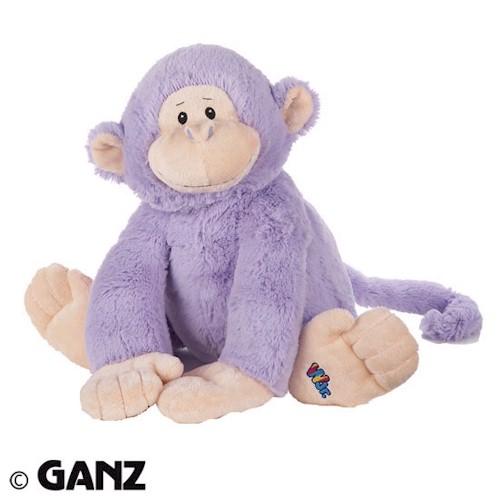 Webkinz Jr Purple Monkey