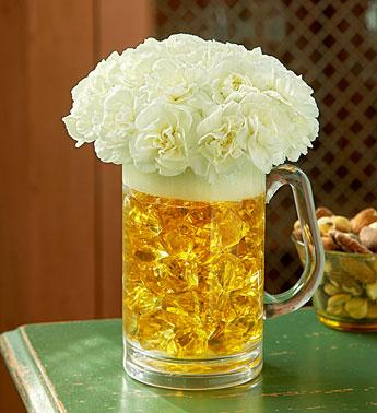 1800flowers Beer Mug Of Blooms