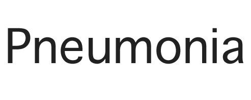 Pneumonia Text