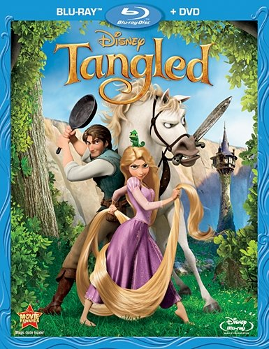 Tangled Bluray Cover