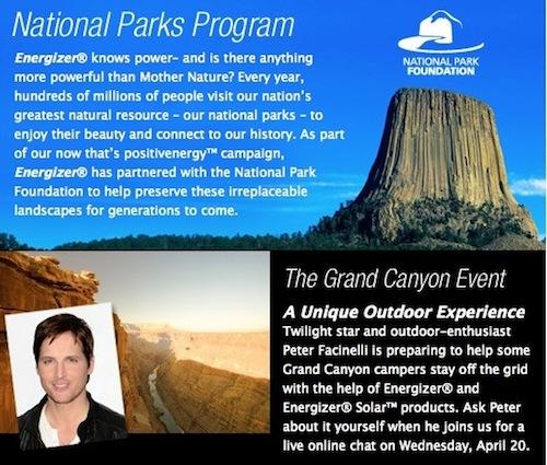 Energizer National Parks Facebook Banner