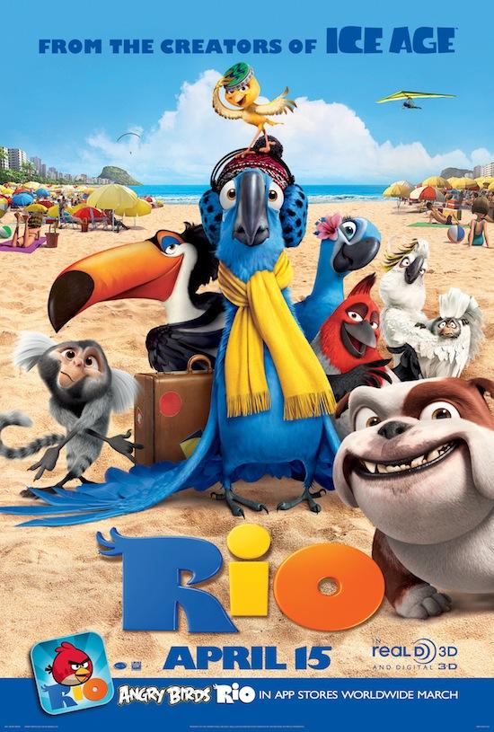 Rio Tall Movie Poster