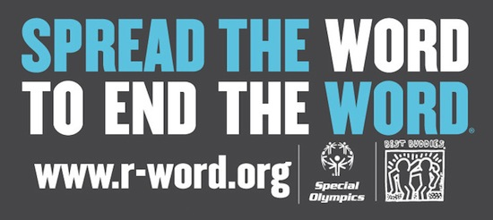 Spread The Word To End The Word banner