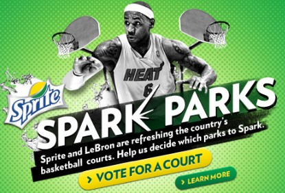 Sprite Spark Parks Banner