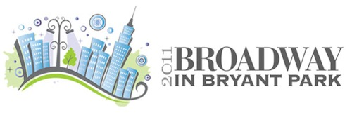 Broadway In Bryant Park 2011 banner