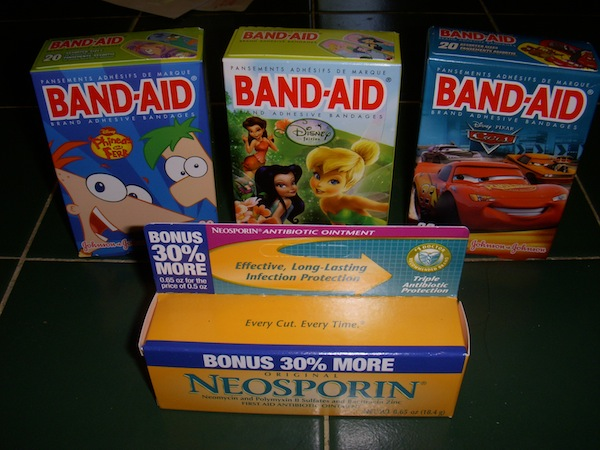 Disney Band-aids And Neosporin