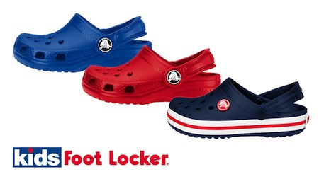 Kids Foot Locker Crocs