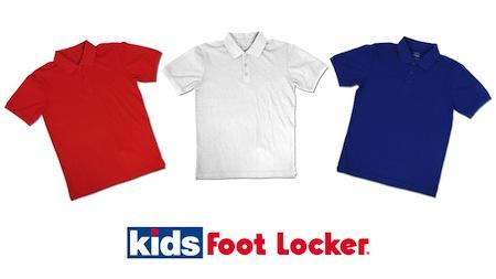 Kids Foot Locker Polos