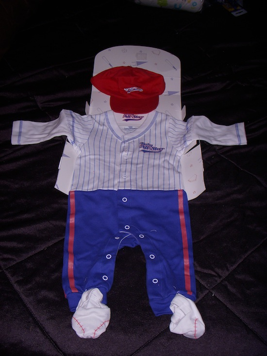My Baby Clothes Baseball Layette