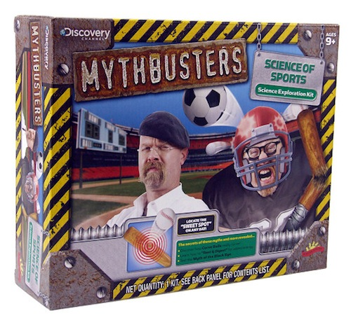 Discovery Mythbusters Science Of Sports Kit Box