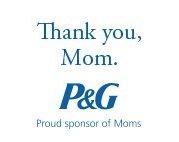 Pandg Thank You Mom Button