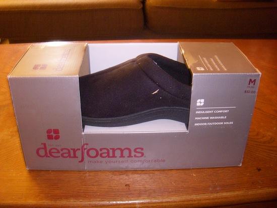 Dearfoams Box