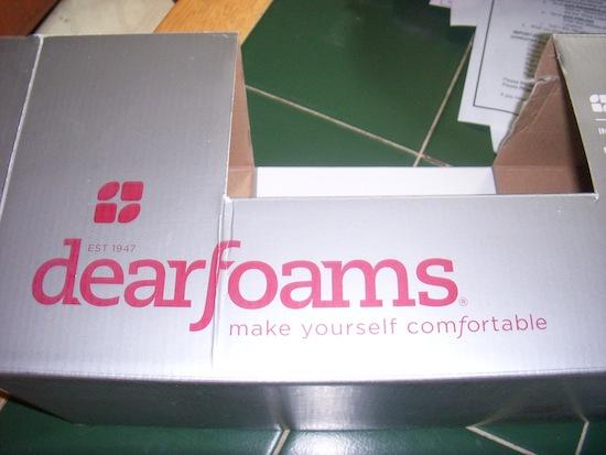 Dearfoams Box Logo