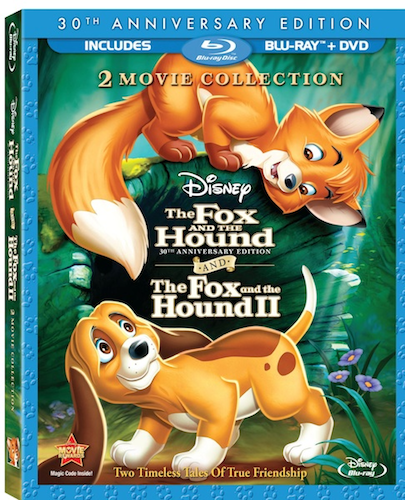 Fox And Hound I And II Movie Collection Bluray Cover