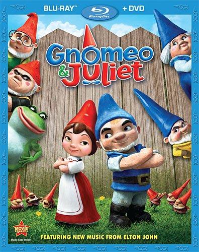 Gnomeo & Juliet Bluray Cover