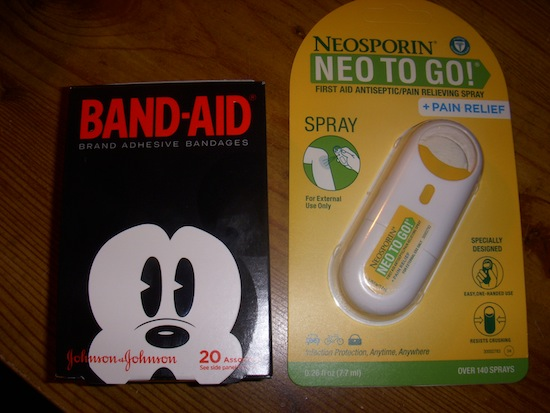 Mickey Band-Aids And Neo To Go