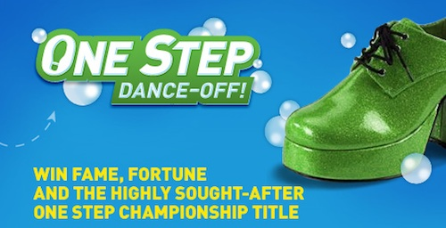 Scrubbing Bubbles One Step Dance-Off Contest Info And Giveaway