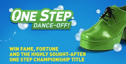 Scrubbing Bubbles One Step Dance-Off Contest