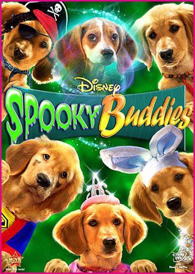 Disney Spooky Buddies DVD cover