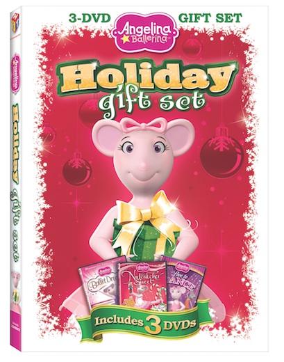 Angelina Ballerina 2011Holiday Gift Set DVD review