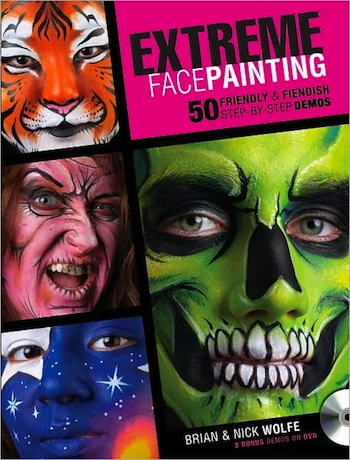 Extreme Face Painting Fiendish