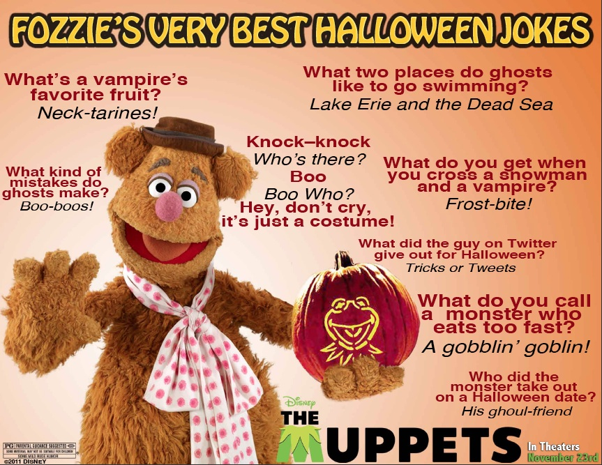 Fozzies Very Best Halloween Jokes