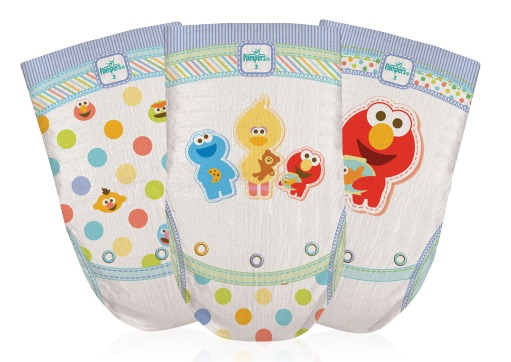 Pampers Cruisers Sesame Street
