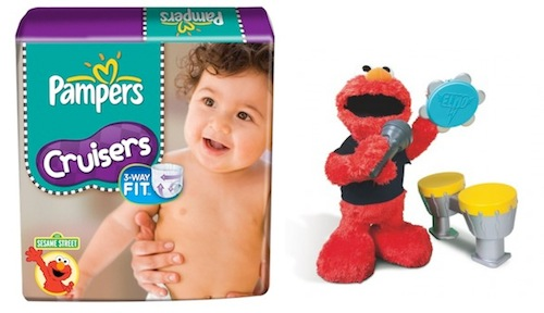 Pampers Cruisers Sesame Street Prize pack