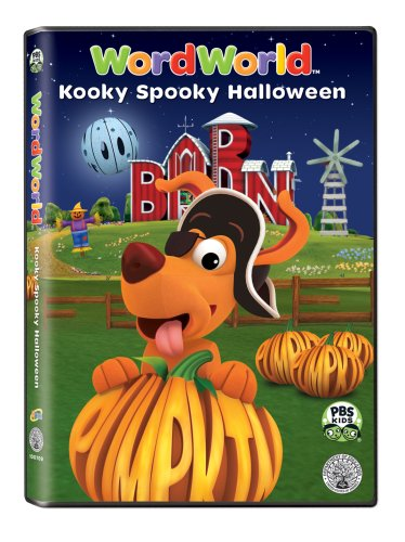 wordworld kooky spooky halloween dvd